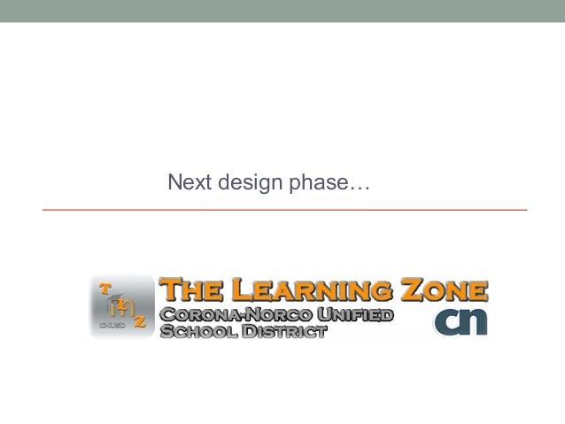 Next design phase…