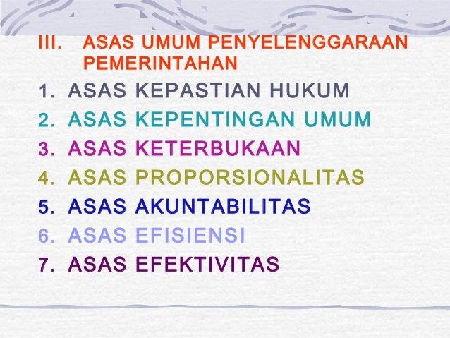 Sebutkan 3 Asas Dalam Otonomi Daerah - Sebutkan Mendetail
