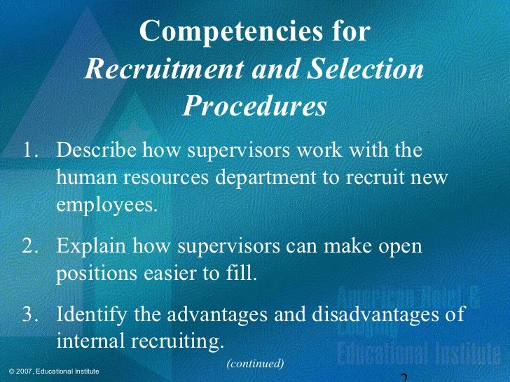 the human resources internal recruiting department should recruit continuously Chapter 1 introduction to human resource management chapter objectives after reading this chapter, you should be able to: 1understand the meaning of human resources 2define the objectives, scope and functions of human resource management (hrm) 3differentiate between hrm and personnel management 4enumerate the.