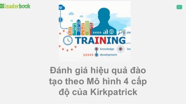 1 Đánh giá hiệu quả đào tạo theo Mô hình 4 cấp độ của Kirkpatrick