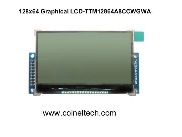 128x64 Graphical LCD-TTM12864A8CCWGWA  www.coineltech.com