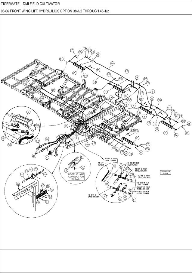field cultivator parts