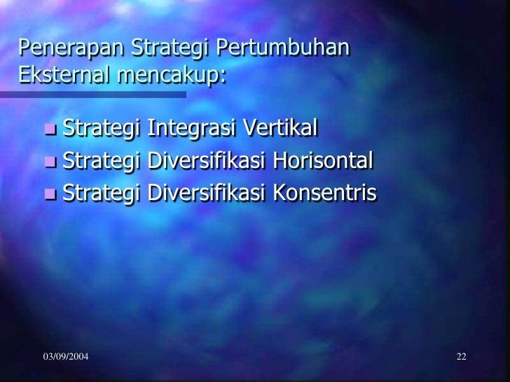 strategi pertumbuhan diversifikasi konsentrik