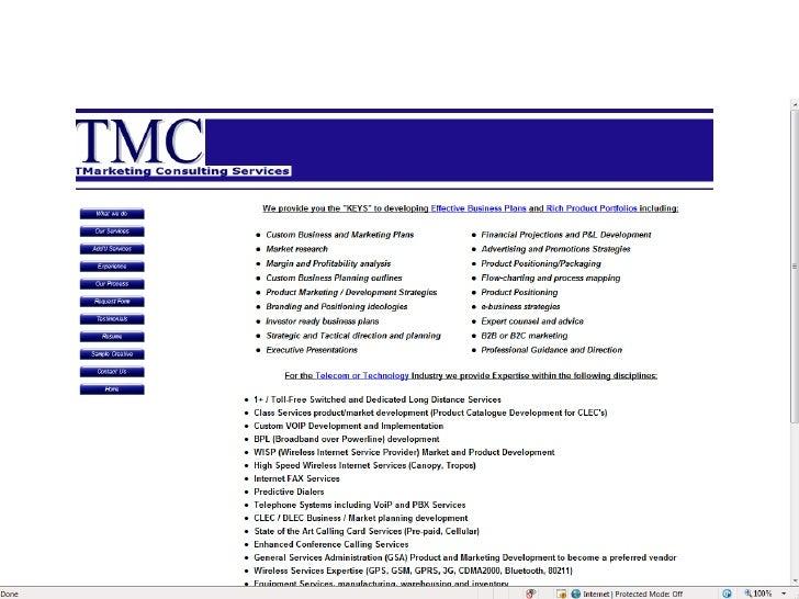 TmarketingConsulitng Services Slide 2