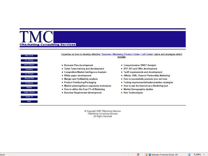 TmarketingConsulitng Services Slide 3
