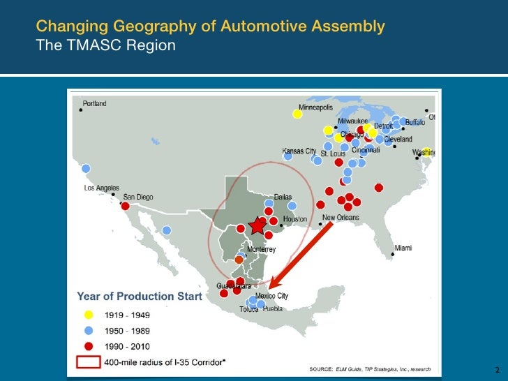 Texas Mexico Automotive Supercluster Tmasc Update