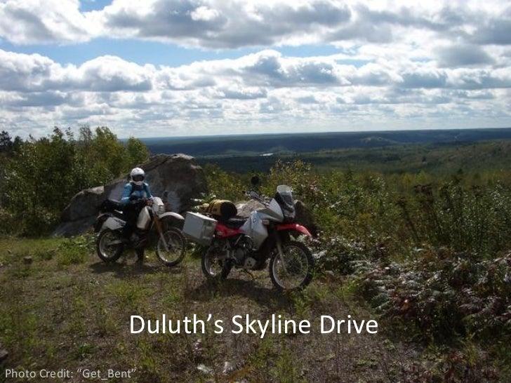 "Duluth's Skyline DrivePhoto Credit: ""Get_Bent"""