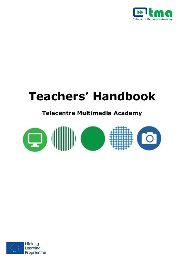 Teachers' Handbook Telecentre Multimedia Academy