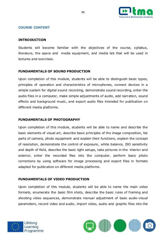 Teacher's handbook for multimedia TMA courses