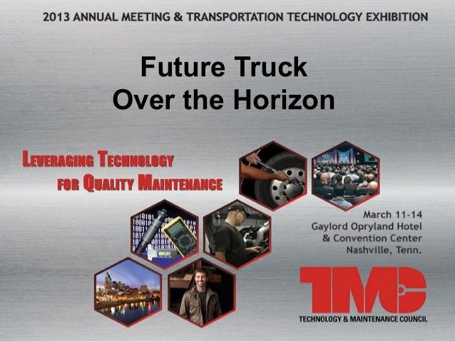 Future TruckOver the Horizon