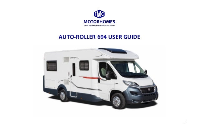 Roller Team Auto-Roller 694 Manual | TMC Motorhomes