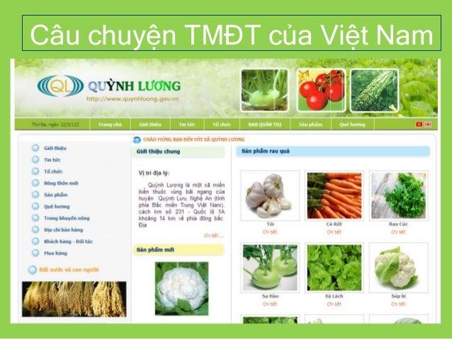 Câu chuyện TMĐT của Việt Nam