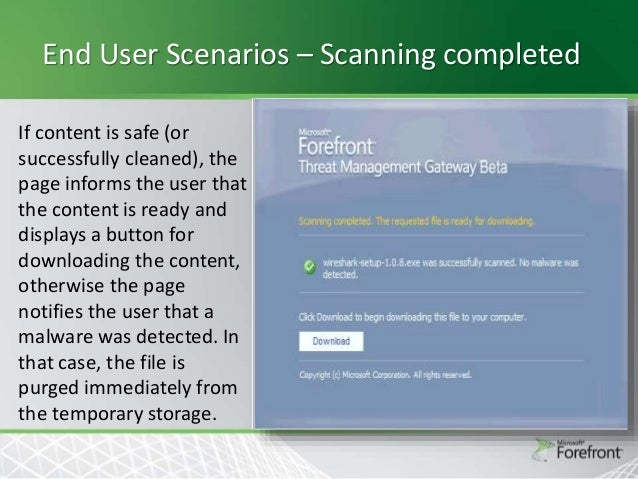 Forefront Threat Management Gateway 2010 Training Pdf