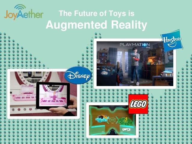 Toys N Joys Website : The future of toys is augmented reality joy aether idt