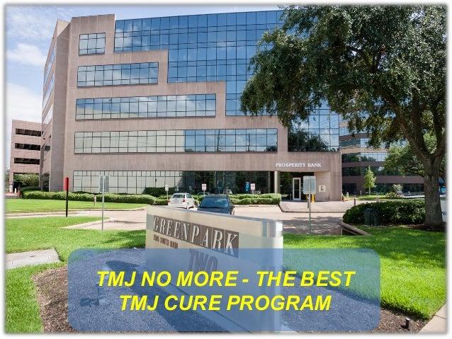TMJ No More - the best TMJ cure program