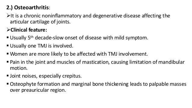 TMJ - ANATOMY & DISORDERS
