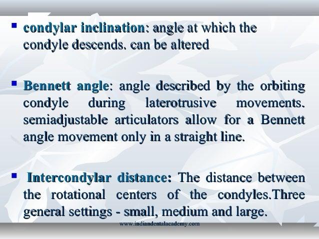 Straight Line Articulator : Tmj instrumentation