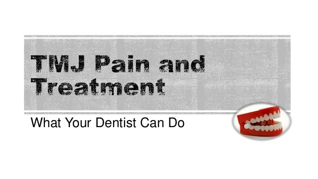 What Your Dentist Can Do