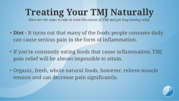 How To Naturally Treat Tmj