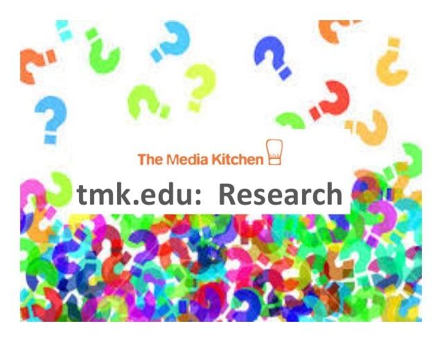 tmk.edu:    Research