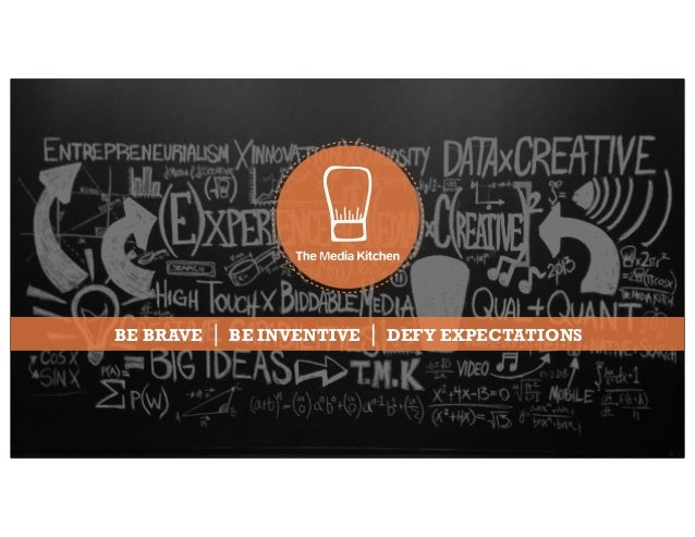 BE BRAVE BE INVENTIVE DEFY EXPECTATIONS