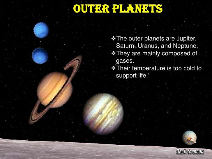 How to write a coursework planets
