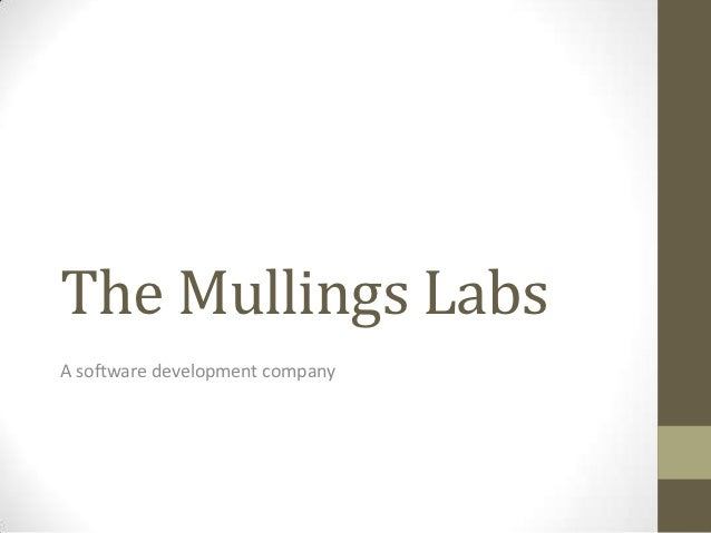 The Mullings LabsA software development company