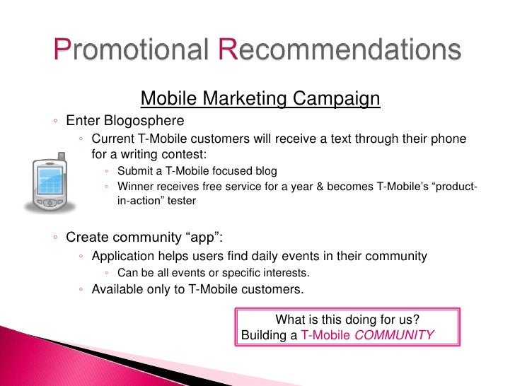 Brand Management Example - T Mobile Presentation