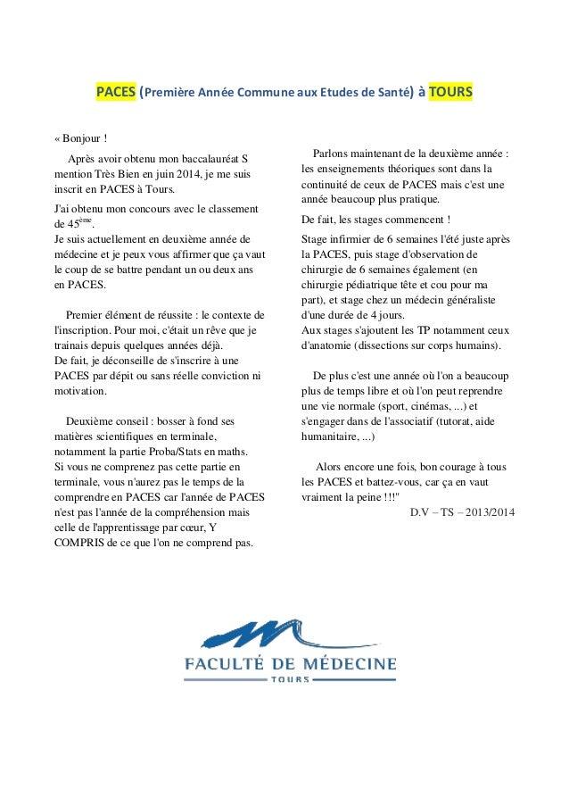 Temoignages S Medecine