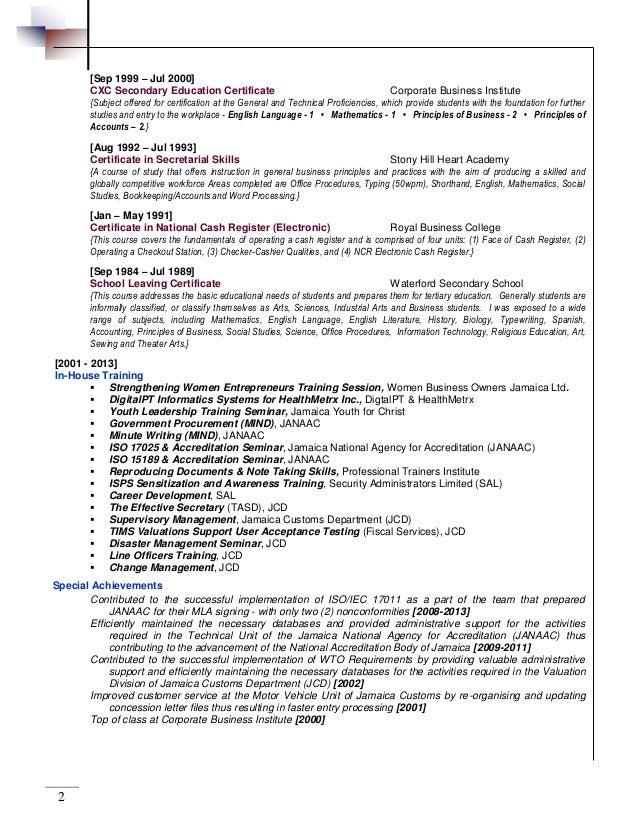 resume register