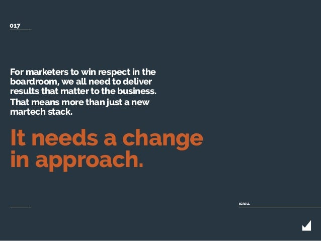 For marketers to win respect in the boardroom, we all need to deliver results that matter to the business. That means more...
