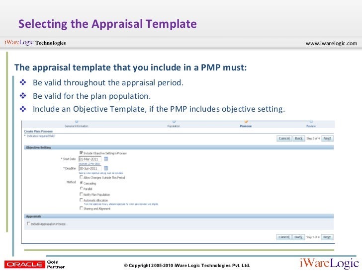 Appraisal Template  ApigramCom