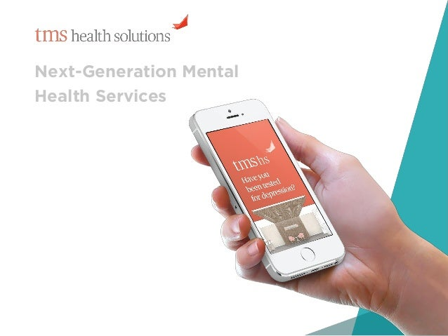 1 Next-Generation Mental Health Services