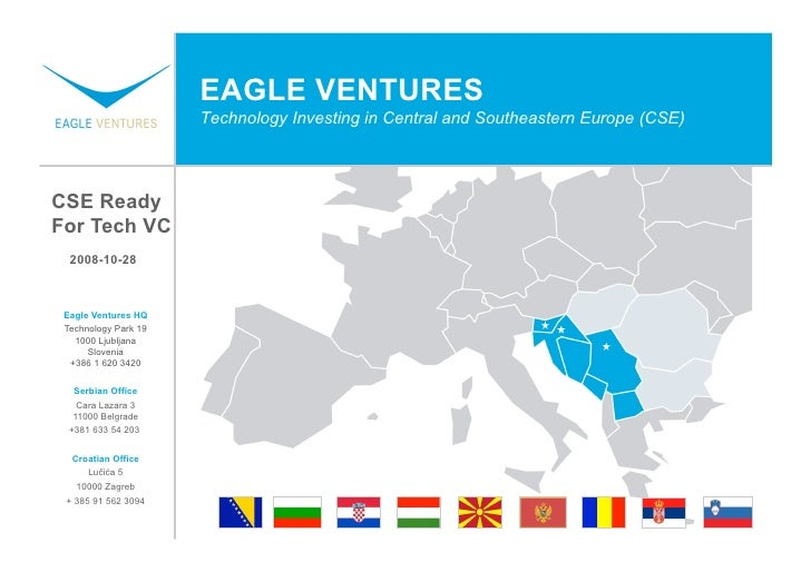 EAGLE VENTURES                       Technology Investing in Central and Southeastern Europe (CSE)     CSE Ready For Tech ...