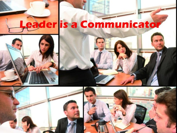 Leader is a Salesperson