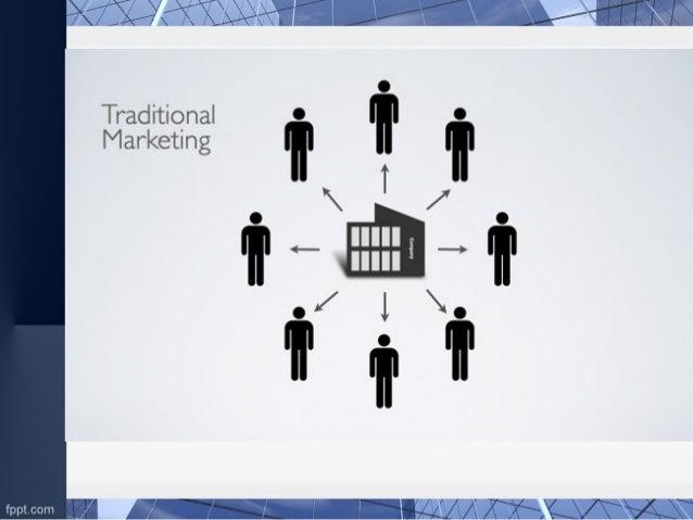 Traditional marketing vs e-marketing.. Slide 2