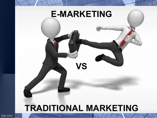 Traditional marketing vs green marketing