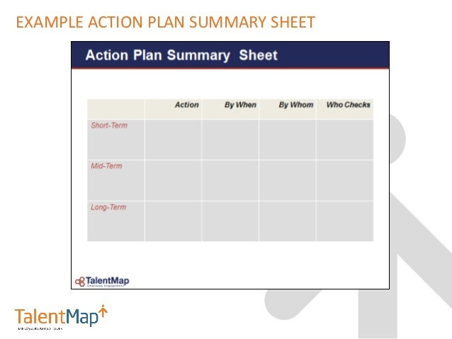 After The Employee Engagement Survey Now What Best Practices in Com – Employee Action Plan Template