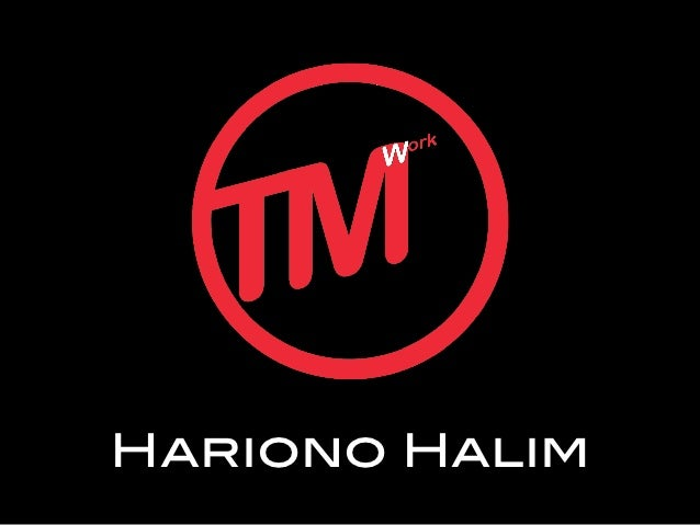 Hariono Halim!