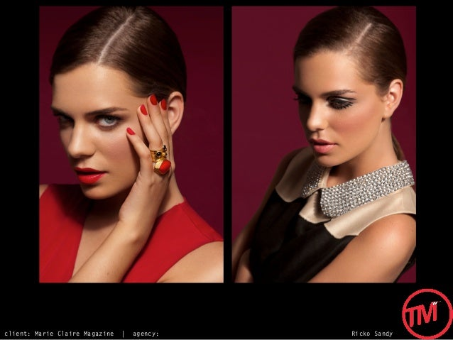 client: Marie Claire Magazine   |   agency:   Ricko Sandy