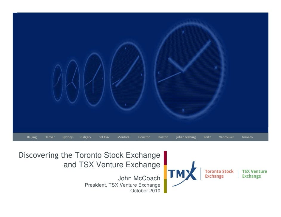 TMX Buyside Program Presentation