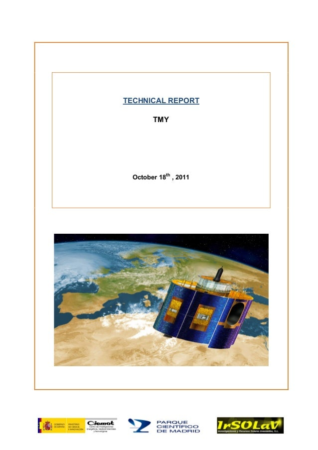 TECHNICAL REPORT TMY October 18th , 2011
