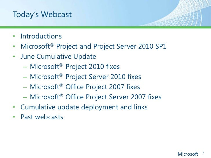 Project e Project Server Service Pack 1