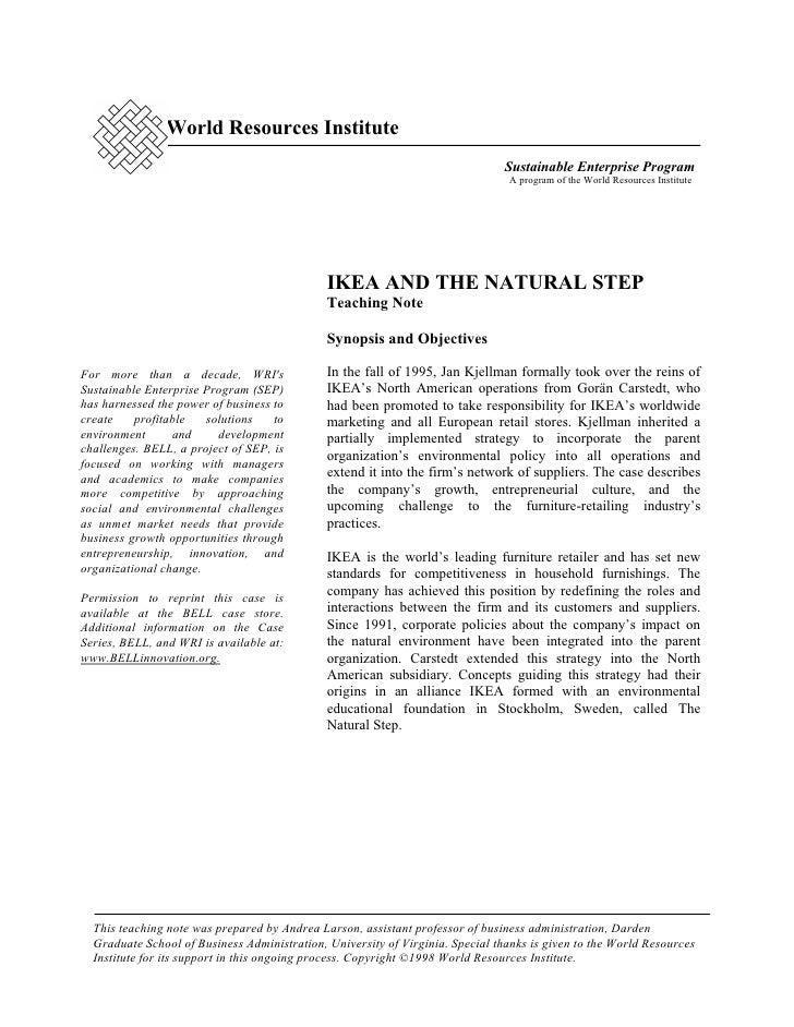 World Resources Institute                                                                               Sustainable Enterp...