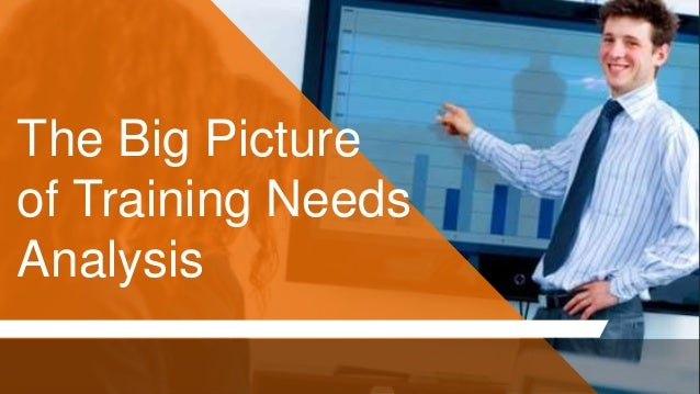 The Big Picture of Training Needs Analysis