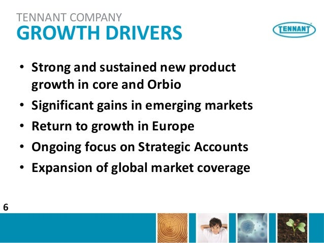 Account for the growth of tncs