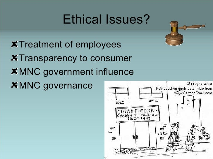 What Are the Ethical Issues in Human Resource Management in Multinational Corporations?