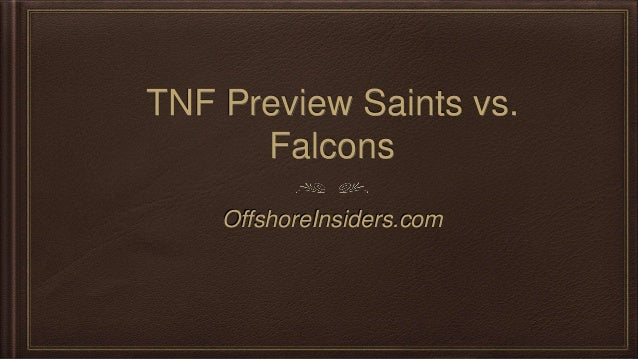 Falcons saints betting previews daily sports betting advice websites