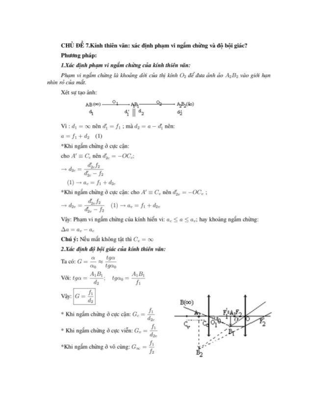 Tổng hợp các phương pháp giải bài tập vật lý 12 luyện thi đại học