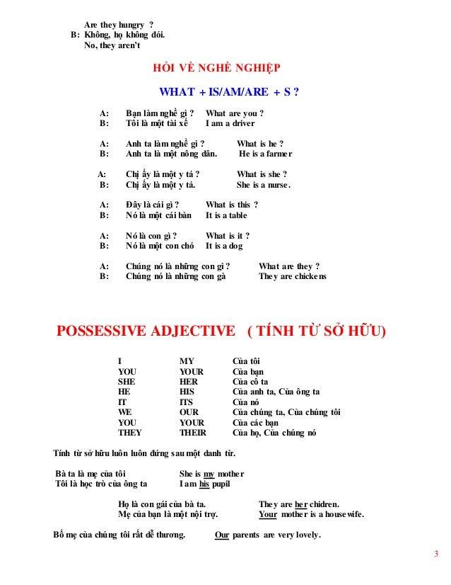 Tổng hợp ngữ pháp tiếng anh lớp 6 Slide 3